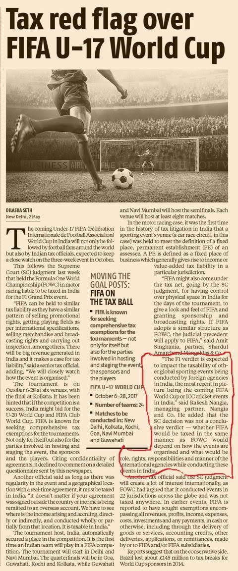 Rakesh Nangia FIFA