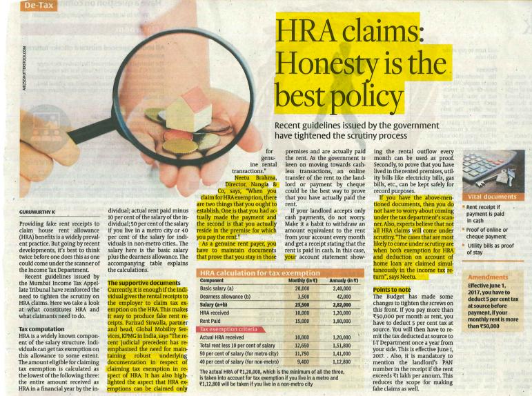 Rakesh Nangia Honesty Is Best Policy