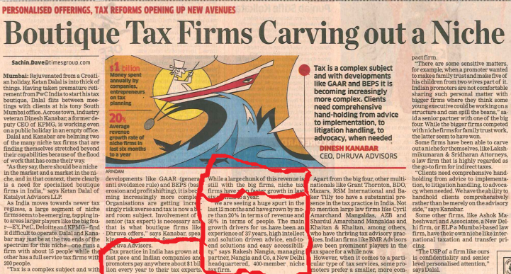 Tax Firms India
