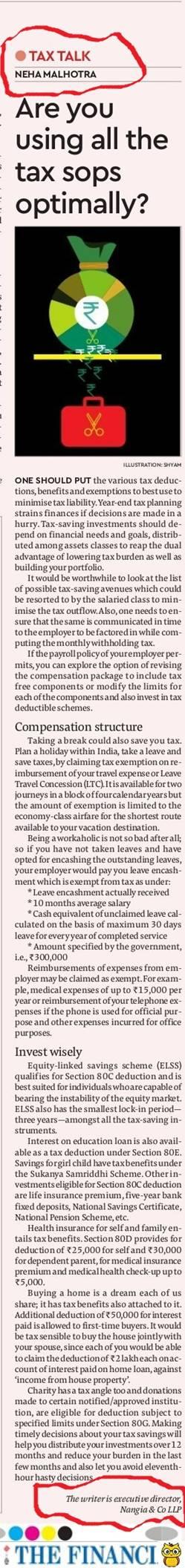 Neha Malhotra Income Tax Returns