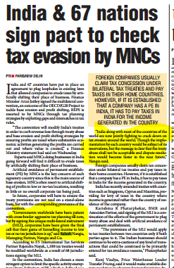 Rakesh Nangia - Tax Evasion By MNCs