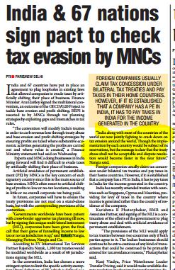Rakesh Nangia - Tax Evasion By MNCs