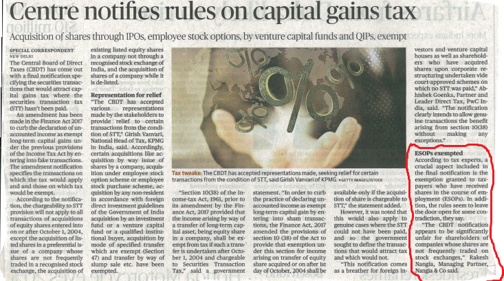 Rules Of Capital Gains - Rakesh Nangia