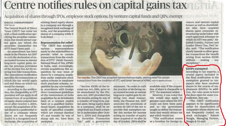 Rules Of Capital Gains - Rakesh Nangia