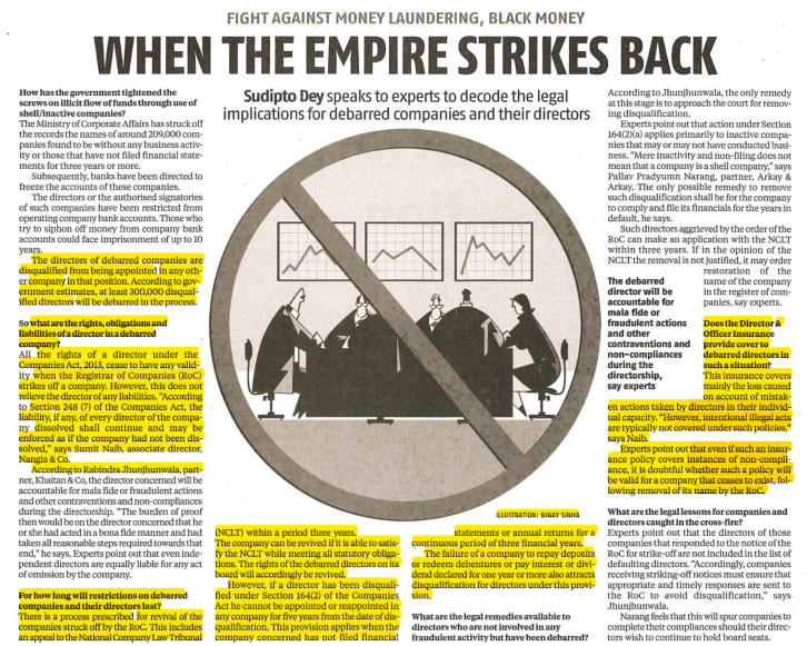 When Empire Strikes Back - Nangia & CO