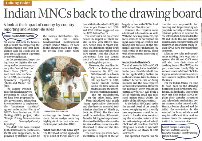 Indian MNCs back to the drawing board- Rakesh Nangia