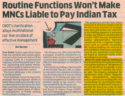 MNCs liable to pay Indian tax - Rahul Jain