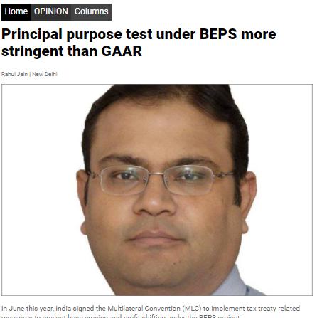 BEPS GAAR - Rahul Jain