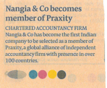 Praxity Nangia & CO LLP