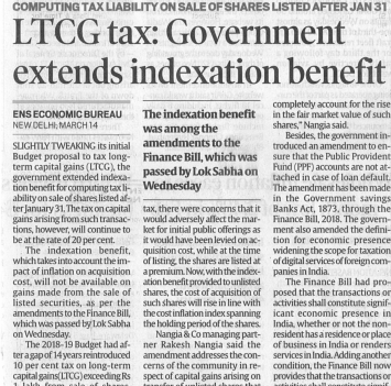 ltcg-tax-government-extends-indexation-benefit
