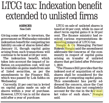 ltcg-tax-indexation-benefit-extended-to-unlisted-firms
