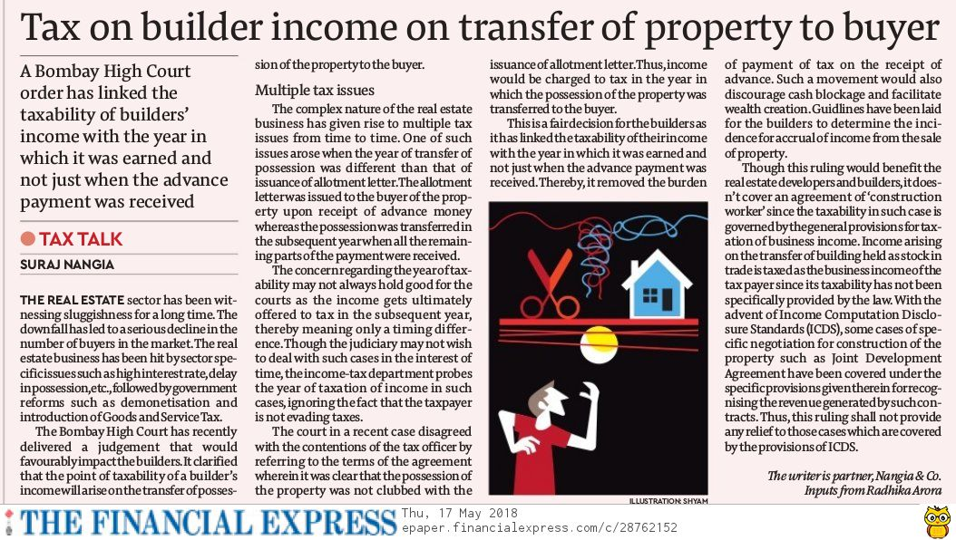 tax-on-builder-income-on-transfer-of-property-to-buyer-suraj-nangia