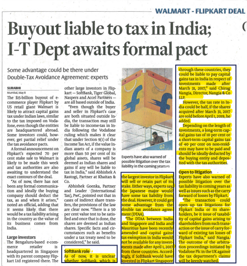 walmart-flipkart-deal-buyout-liable-to-tax-in-india-i-t-dept-awaits-formal-pact-chirag-nangia