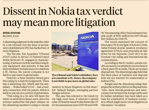 dissent-in-nokia-tax-verdict-may-mean-more-litigation