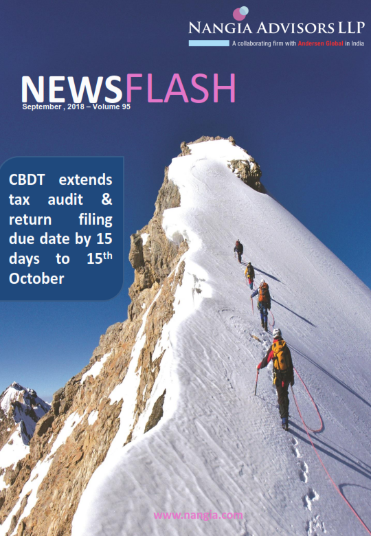 CBDT extends tax audit & return filing due date by 15 days to 15th October