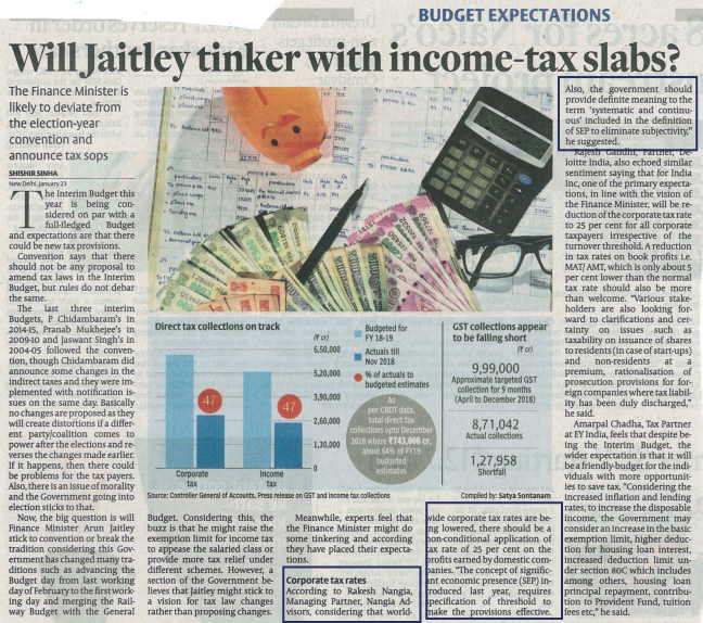 Will Jaitley tinker with income-tax slabs