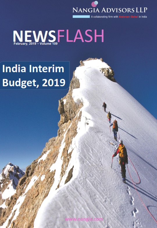 India Interim Budget, 2019 - An analysis of the tax proposals