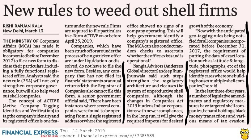 Govt formulates new rules to weed out firms