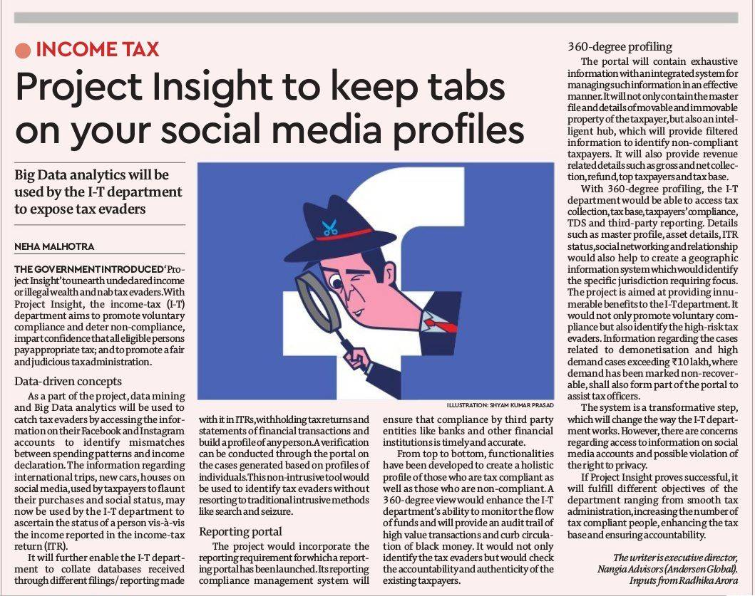 Income tax evaders beware; govt to keep tabs on your social media profiles