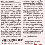 Stressed India Inc's corporate tax outflows grow faster than profits