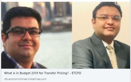 What is in Budget 2019 for Transfer Pricin